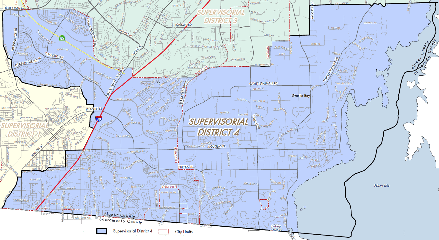Supervisorial District 4 Map (PDF)