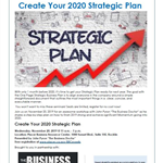 Create your 2020 strategic plan (11-20)