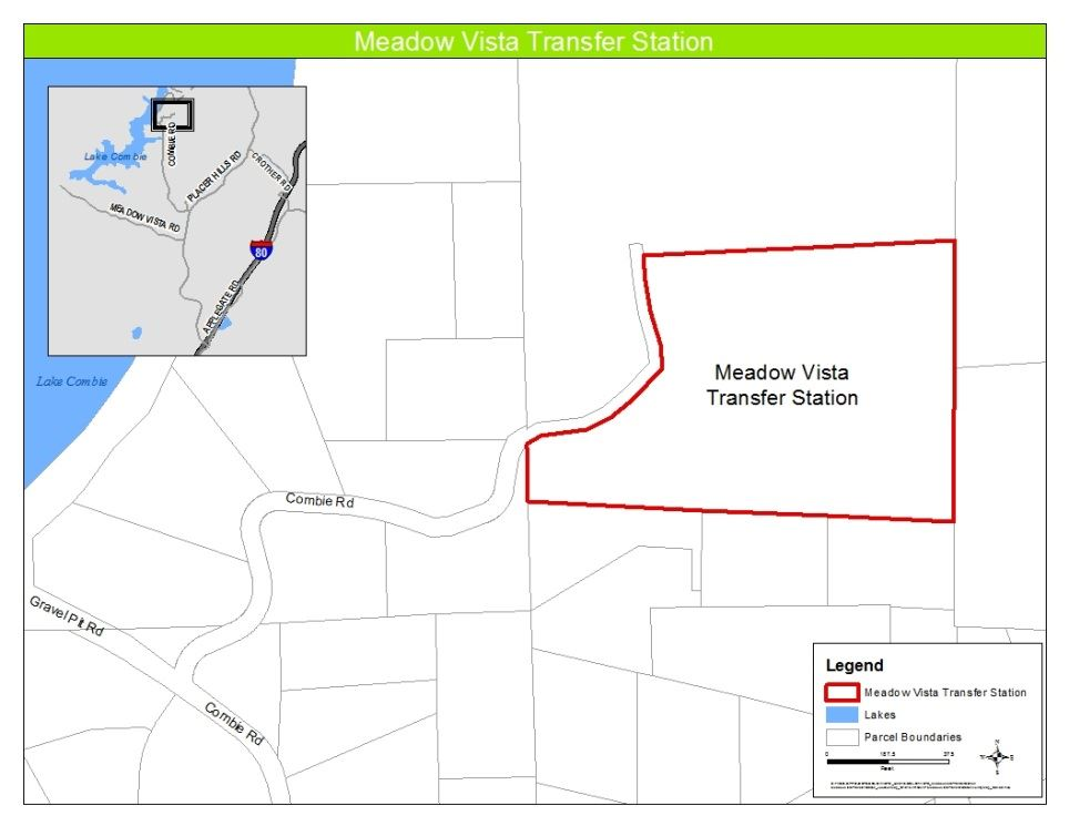 Meadow Vista Transfer Station Site Map Opens in new window
